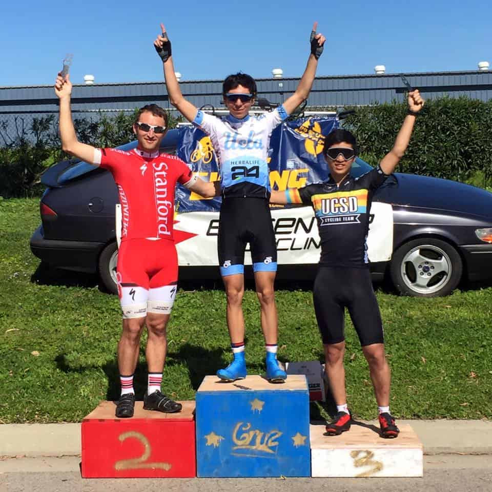 Men's D Crit Podium